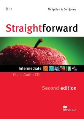 Straightforward 2nd Edition Intermediate Level Class Audio CDx2 (CD-Audio)