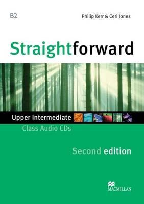 Straightforward 2nd Edition Upper Intermediate Level Class Audio CDx2 (CD-Audio)