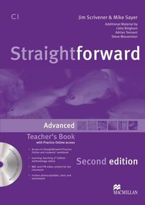 Straightforward 2nd Edition Advanced Level Teacher's Book Pack