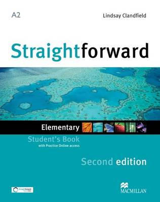 Straightforward 2e - Student Book - Elementary A2 with Practice Online Access (Board book)
