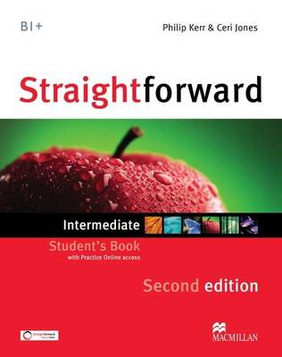 Straightforward 2e - Student Book - Intermediate B1 with Practice Online Access (Board book)