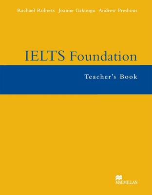 IELTS Foundation Second Edition Teacher's Book (Paperback)
