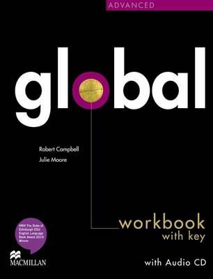 Global Advanced Workbook & CD with key Pack