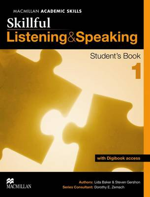 Skillful - Listening and Speaking - Level 1 Student Book + Digibook (Board book)