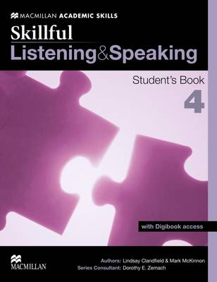 Skillful - Listening and Speaking - Level 4 Student Book & Digibook (Board book)