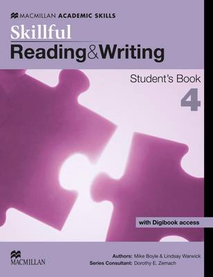 Skillful - Reading and Writing - Level 4 Student Book & Digibook (Board book)