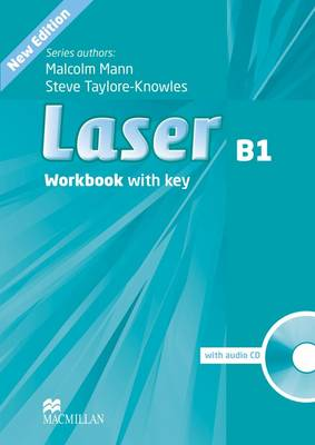 Laser 3rd edition B1 Workbook +key & CD Pack
