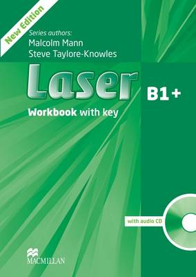 Laser 3rd edition B1 Workbook +key & CD Pack