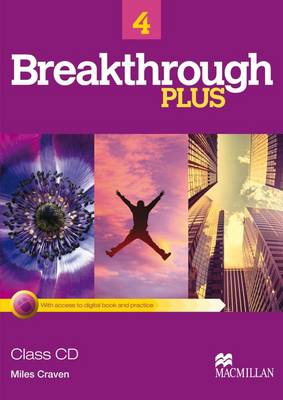 Breakthrough Plus 4 Class Audio CDs (2) (Board book)