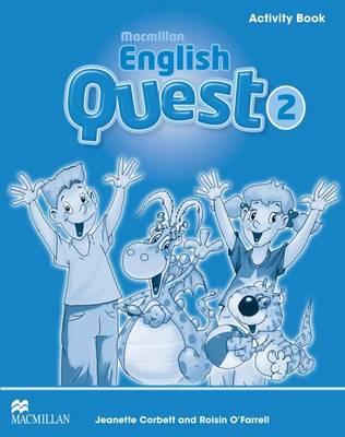 Macmillan English Quest Level 2 Activity Book (Paperback)