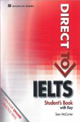 Direct to IELTS Student's Book + key & Webcode Pack