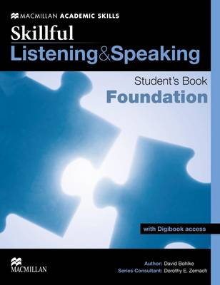 Skillful - Listening and Speaking - Foundation Level Student Book + Digibook (Board book)
