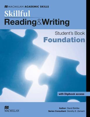 Skillful - Reading and Writing - Foundation Level Student Book + Digibook (Board book)