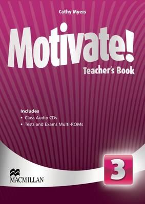Motivate! Level 3 Teacher's Book + Class Audio + Test Pack