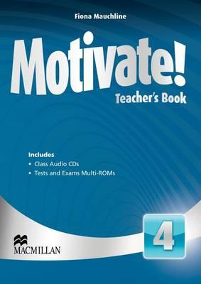 Motivate! Level 4 Teacher's Book + Class Audio + Test Pack
