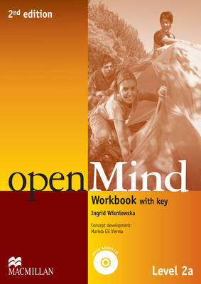 openMind 2nd Edition AE Level 2A Workbook Pack with key