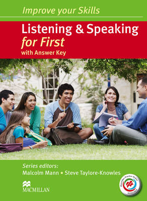 Improve your Skills: Listening & Speaking for First Student's Book with key & MPO Pack