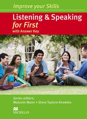 Improve Your Skills Listening Speaking for First SB with key (Board book)