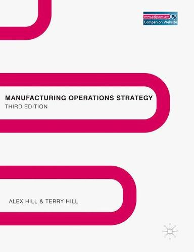 Manufacturing Operations Strategy: Texts and Cases (Paperback)