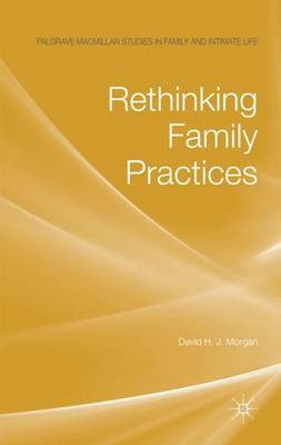 Rethinking Family Practices - Palgrave Macmillan Studies in Family and Intimate Life (Hardback)
