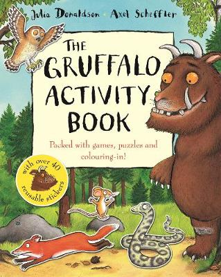 The Gruffalo Activity Book (Paperback)