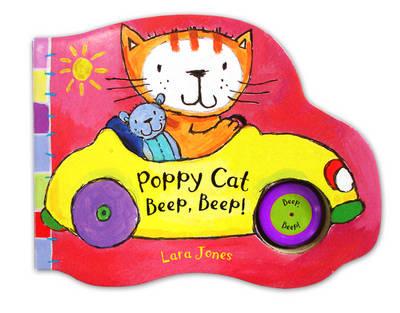 Poppy Cat Noisy Books: Poppy Cat Beep, Beep! (Board book)