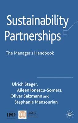 Sustainability Partnerships: The Manager's Handbook (Hardback)