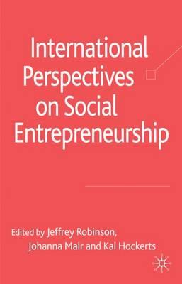 International Perspectives on Social Entrepreneurship (Hardback)