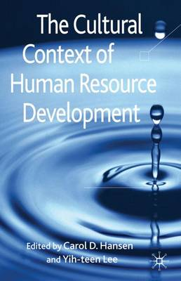 The Cultural Context of Human Resource Development (Hardback)