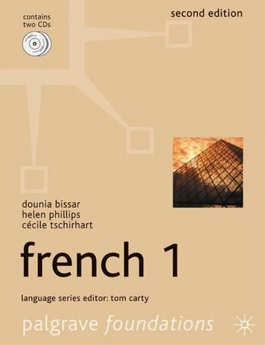 Foundations French 1 - Palgrave Foundation Series Languages (Paperback)