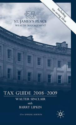 St James's Place Tax Guide 2008-2009 (Hardback)