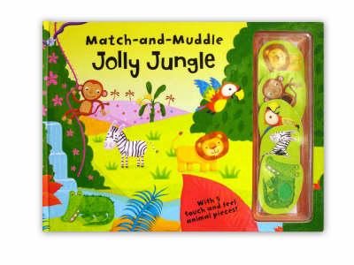 Match and Muddle: Jolly Jungle (Hardback)