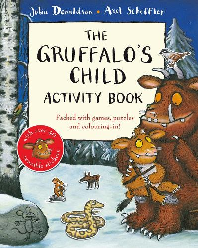 The Gruffalo's Child Activity Book (Paperback)