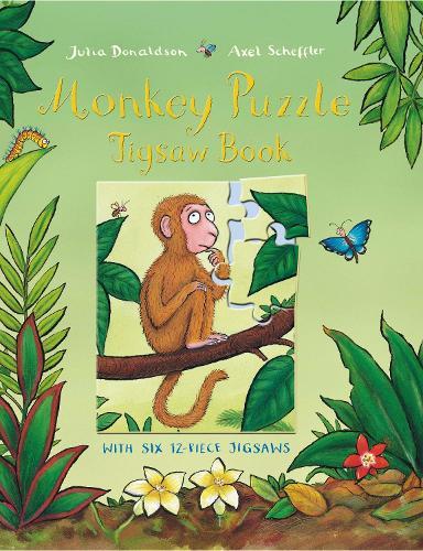 Monkey Puzzle Jigsaw Book (Hardback)