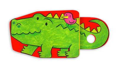 Clackety-clacks: Crocodile (Board book)
