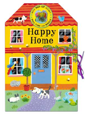 Colourful Carousels: Happy Home (Board book)