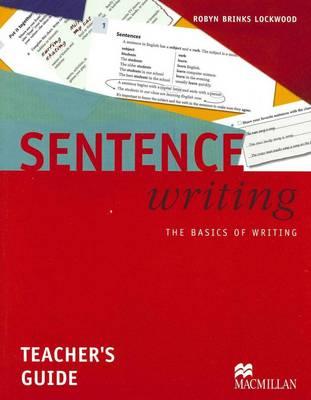 Sentence Writing: Sentence Writing - Teacher Book - The Basics of Writing Teacher's Book (Board book)