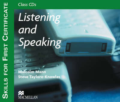 Skills for 1st Certificate - Listen and Speaking CD (Board book)