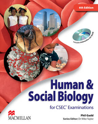 Human & Social Biology for CSEC (R) Examinations 6th Edition Student's Book and CD-ROM