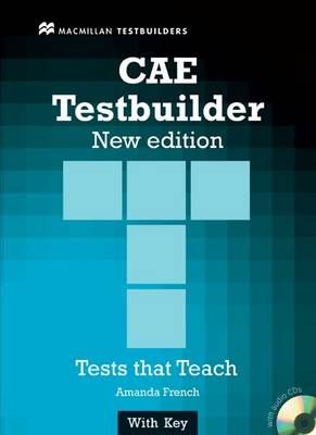 New CAE Testbuilder Student Book and audio CD pack with Key (Board book)