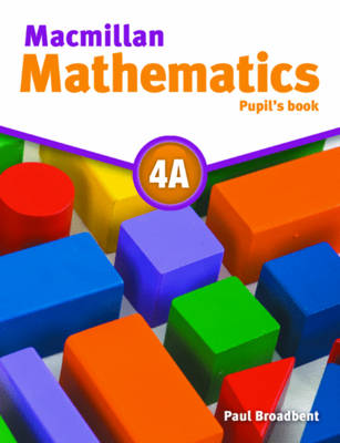 Macmillan Maths 4A: Pupil's Book Pack