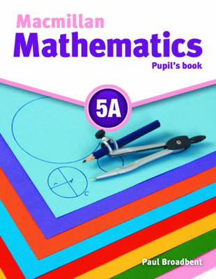 Macmillan Mathematics 5 Pupil's Book A with CD ROM (Board book)