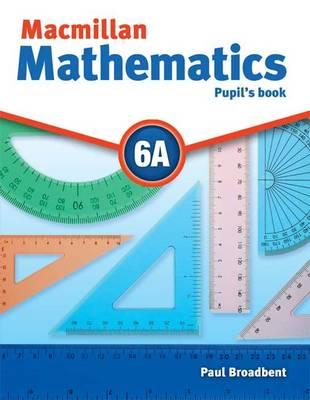Macmillan Mathematics 6 Pupils Book A with CD-ROM (Board book)