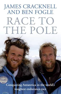 Cover of the book, Race to the Pole.
