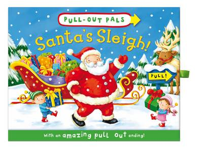 Pull-out Pals: Santa's Sleigh (Board book)