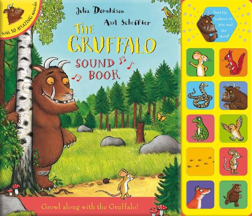 The Gruffalo Sound Book (Big book)