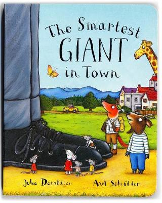 The Smartest Giant in Town (Board book)