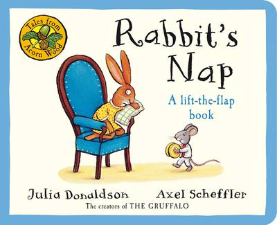Tales From Acorn Wood: Rabbit's Nap (Board book)