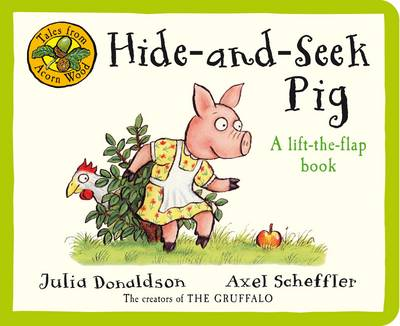 Tales From Acorn Wood: Hide & Seek Pig (Board book)
