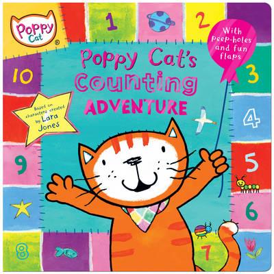 Poppy Cat TV: Poppy Cat's Counting Adventure - Poppy Cat TV (Hardback)